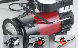Выбор автомобильного компрессора — на что обратить внимание
