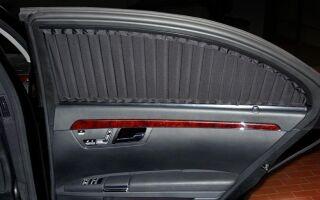 Шторки на автомобильные стекла: преимущества и виды