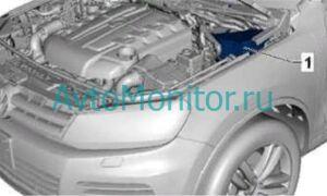 Предохранители Volkswagen Touareg II