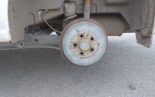 Тормозные барабаны на Volkswagen Polo V седан