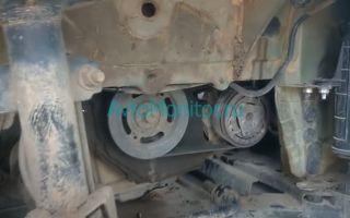 Ремень и ролик натяжителя генератора Renault Duster