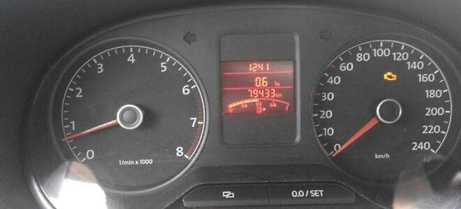 Коды ошибок и их расшифровка на Volkswagen Polo V седан