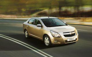 Шевроле Кобальт (Chevrolet Cobalt) 2013 II, технические характеристики