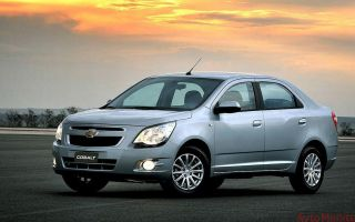 Цвета кузова Chevrolet Cobalt 2013 года