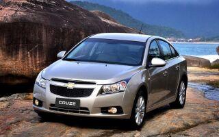 Chevrolet Cruze седан: фото, технические характеристики