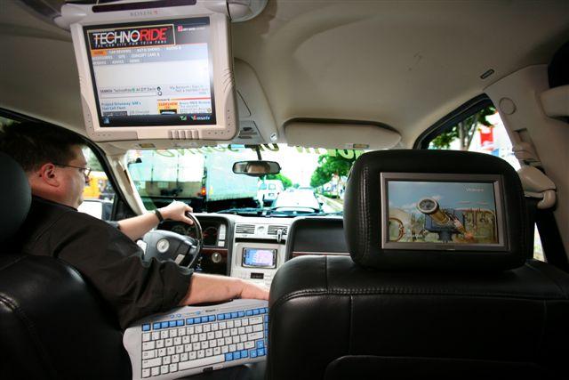 Автомобильные мониторы