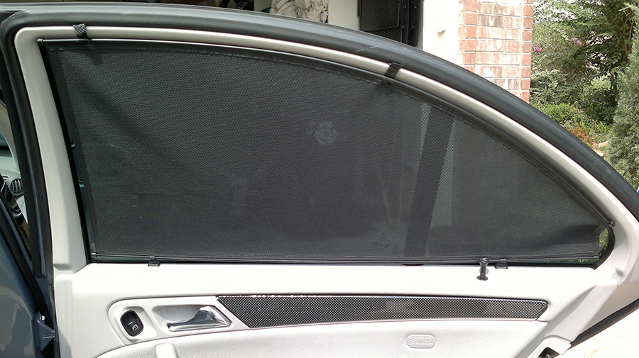 Каркасные шторы для авто