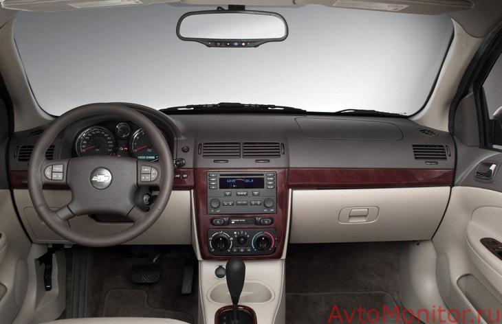 Интерьер автомобиля Chevrolet Cobalt