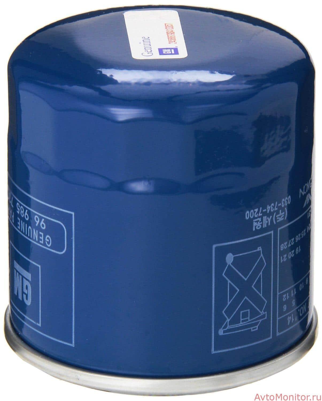 Масляный фильтр для Шевроле Кобальт