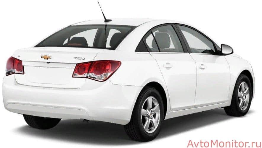 Габариты Chevrolet Cruze седан