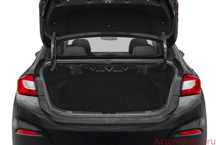 Открытый багажник