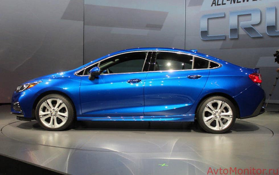 Chevrolet Cruze седан второго поколения
