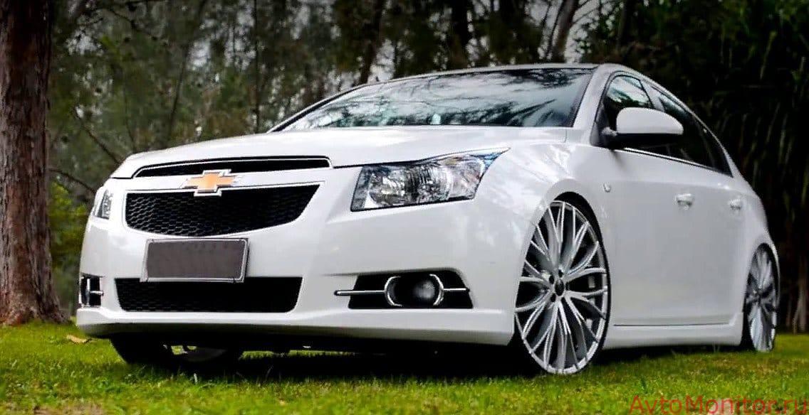 Большие диски Chevrolet Cruze