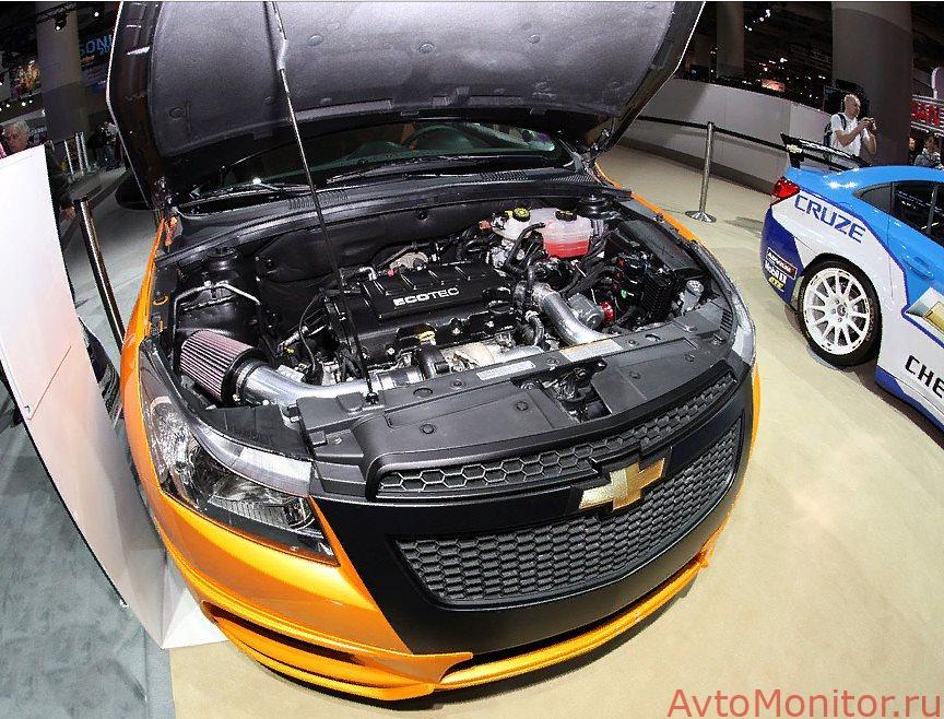 Тюнинг двигателя Chevrolet Cruze