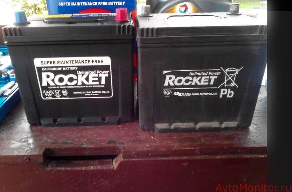 АКБ Rocket для KIA Sportage