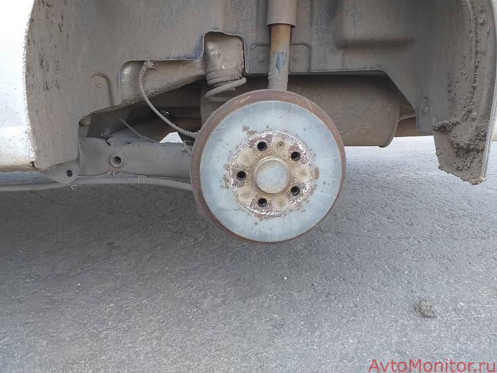 Внешний вид барабанов VW Polo
