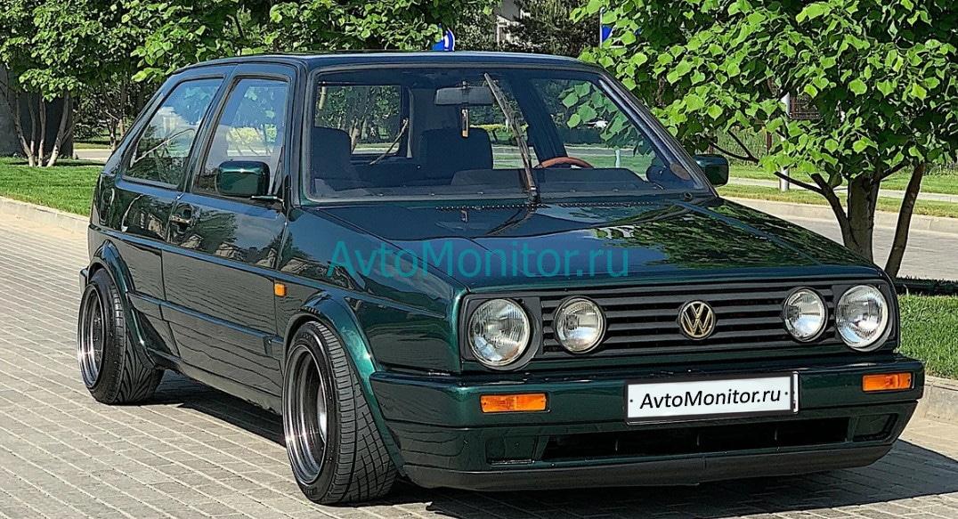 Внешний вид VW Golf 2