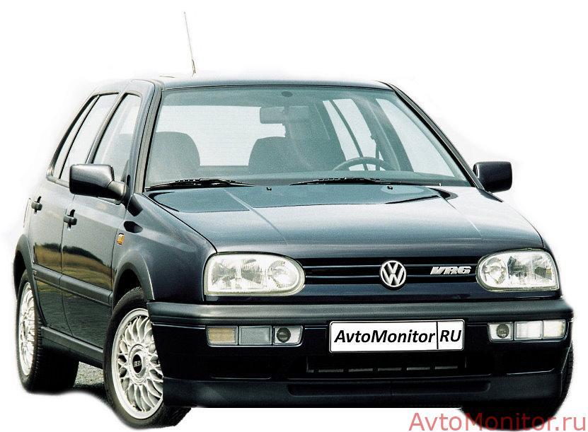 Внешний вид VW Golf 3