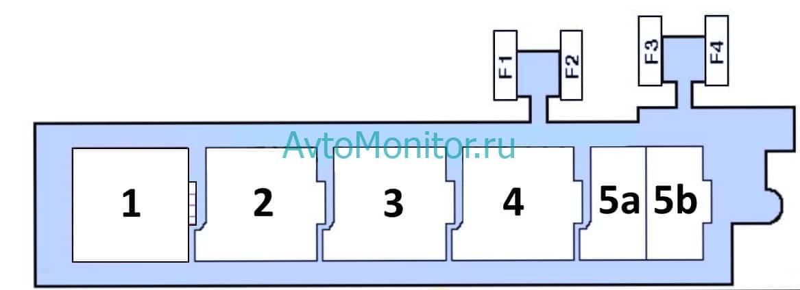 Дополнительный блок реле вариант 1