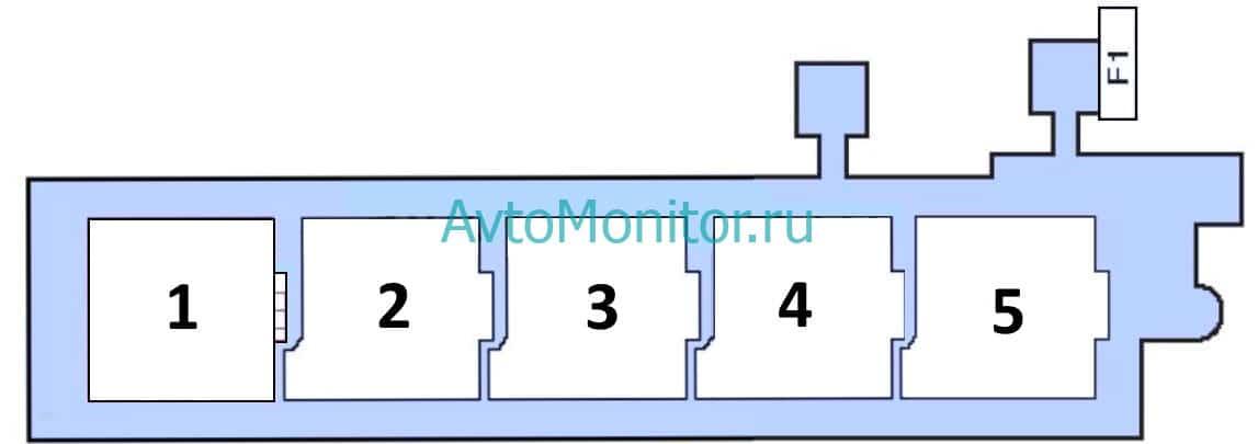 Дополнительный блок реле вариант 2