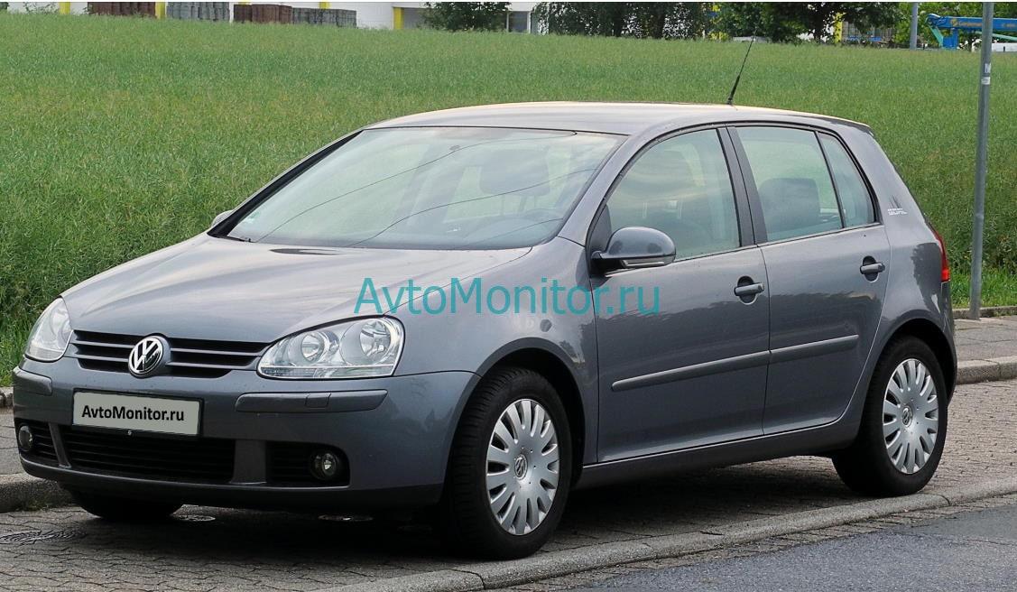 Внешний вид VW Golf 5