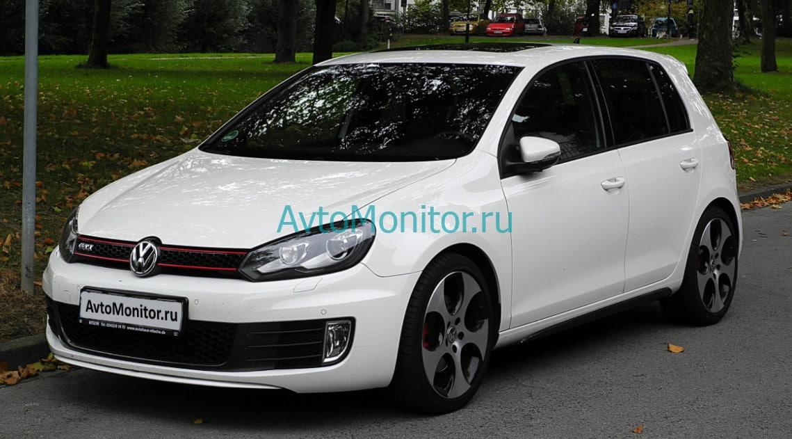 Внешний вид VW Golf 6