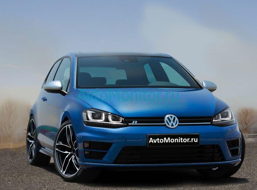 Внешний вид Volkswagen Golf VII