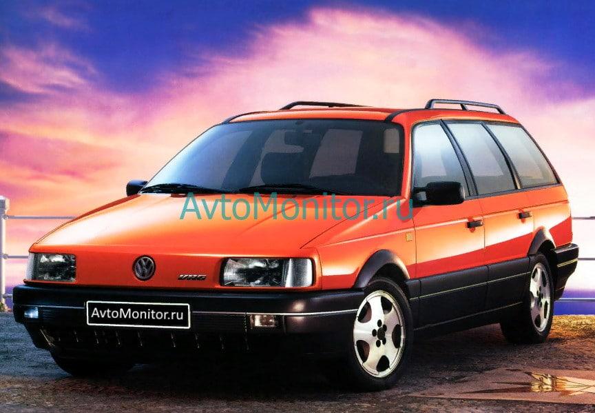Внешний вид Volkswagen Passat B3 и B4