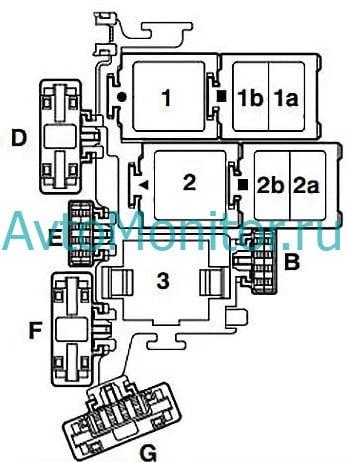Схема моторного блока