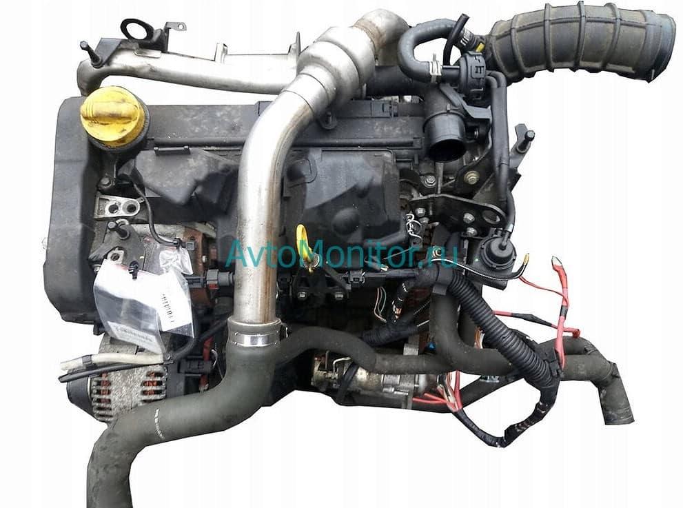 Внешний вид двигателя K9K (дизель 1.5, 8V)