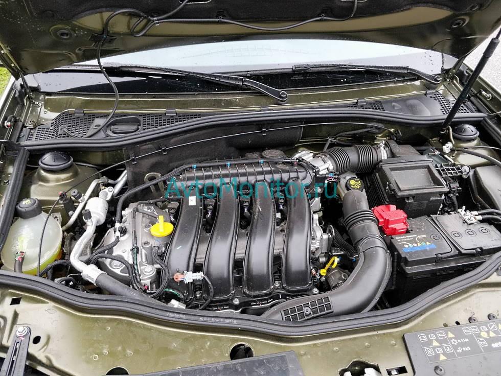 Внешний вид двигателя F4R (бензин 2.0, 16V)